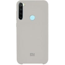 Silicone Case Xiaomi Redmi Note 8 Gray