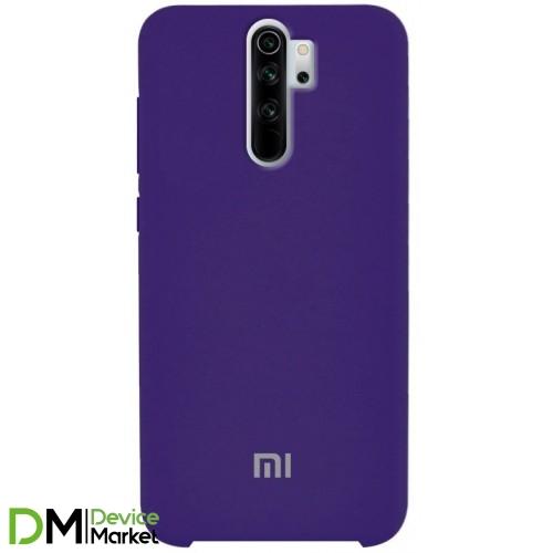 Silicone Case Xiaomi Redmi Note 8 Pro Purple