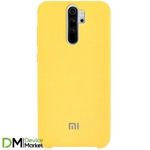 Silicone Case Xiaomi Redmi Note 8 Pro Yellow
