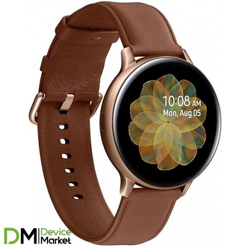 Samsung Galaxy Watch Active 2 44mm Gold Stainless steel (SM-R820NSDASEK)