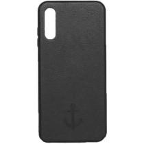 Накладка Leather Magnet Case Samsung A01 (2020) A015F Black