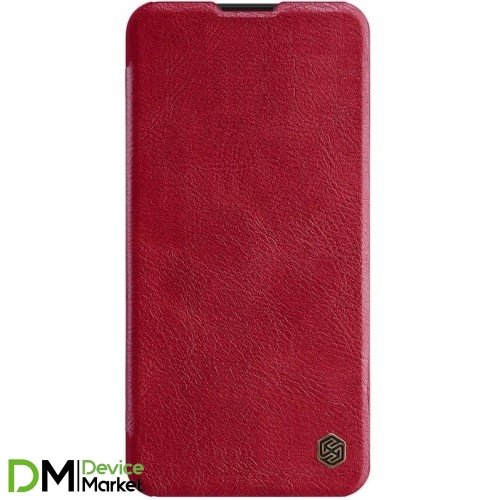 Кожаный чехол (книжка) Nillkin Qin Series для Xiaomi Redmi 8 Red