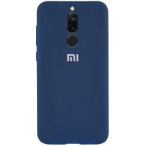 Silicone Case Xiaomi Redmi 8 Blue