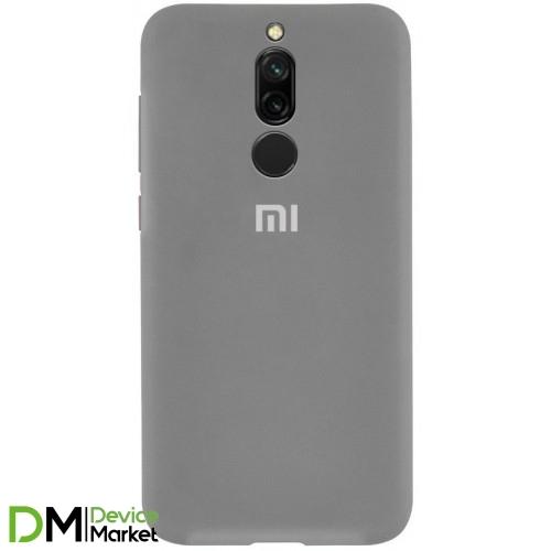 Silicone Case Xiaomi Redmi 8 Gray