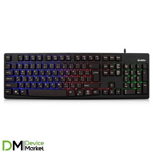 Клавиатура Sven KB-E5500 Black
