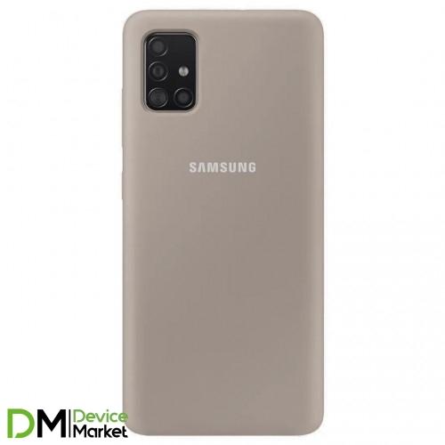 Silicone Case Samsung A51 Gray