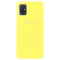 Silicone Case Samsung A51 Yellow