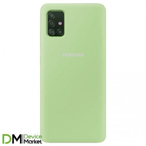 Silicone Case Samsung A51 Mint