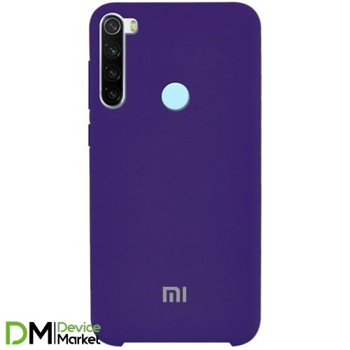 Silicone Case Xiaomi Redmi Note 8 Purple