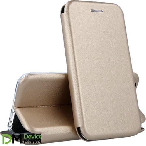 Чехол-книжка для Samsung A405 Galaxy A40 Gold