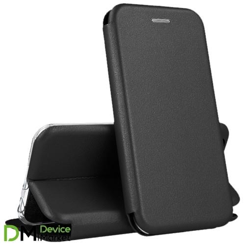 Чехол-книжка Premium Leather Case Samsung A01 (2020) A015F Black