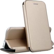 Чехол-книжка Premium Leather Case Samsung A01 (2020) A015F Gold