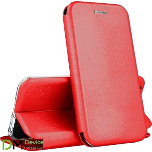 Чехол-книжка Premium Leather Case Samsung A01 (2020) A015F Red