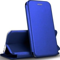 Чехол-книжка Premium Leather Case Samsung A01 (2020) A015F Blue