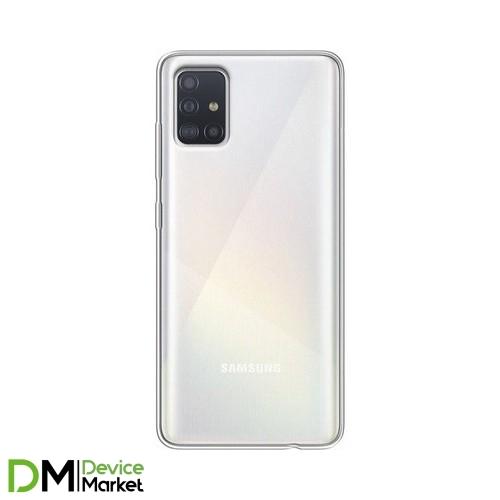 Чехол силиконовый для Samsung A51 A515 прозрачный