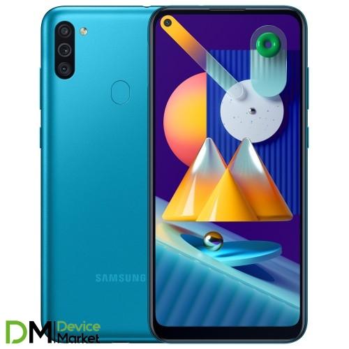 Samsung Galaxy M11 M115 3/32 Metallic Blue (SM-M115FMBN) UA-UCRF