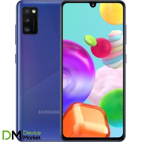 Samsung Galaxy A41 SM-A415F 4/64GB (SM-A415FZBDSEK) Prism Crush Blue UA