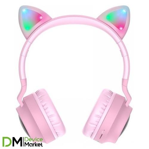 Наушники Hoco W27 Pink