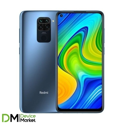 Xiaomi Redmi Note 9 4/128GB NFC Midnight Grey Global