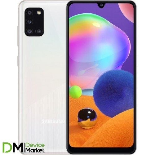 Samsung Galaxy A31 4/128GB (SM-A315FZWVSEK) White UA-UCRF