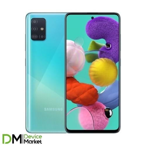 Samsung Galaxy A51 SM-A515F 6/128GB Blue (SM-A515FZBWSEK) UA
