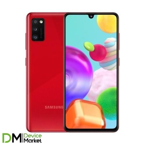 Samsung Galaxy A41 SM-A415F 4/64GB (SM-A415FZRDSEK) Prism Crush Red UA