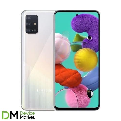 Samsung Galaxy A51 SM-A515F 6/128GB White (SM-A515FZWWSEK) UA