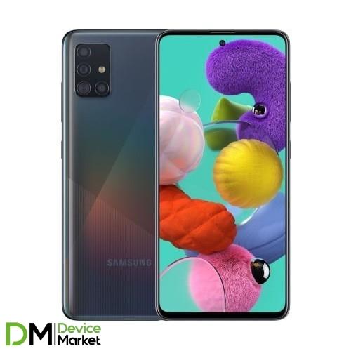 Samsung Galaxy A51 SM-A515F 6/128GB Black (SM-A515FZKWSEK) UA