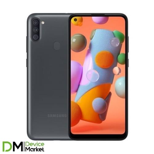 Samsung Galaxy A11 SM-A115 Black (SM-A115FZKNSEK) UA