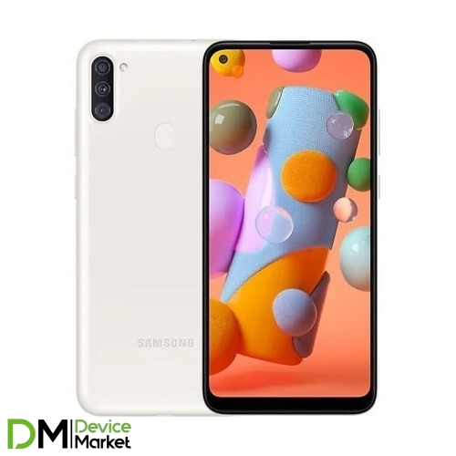 Samsung Galaxy A11 SM-A115 White (SM-A115FZWNSEK) UA