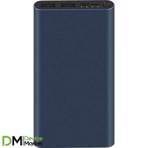 Power bank Xiaomi Mi 3 10000 mAh Black