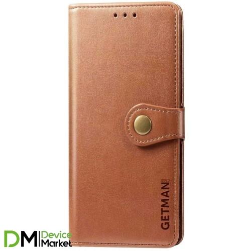 Чехол-книжка Getman Gallant Xiaomi Redmi 9A Brown