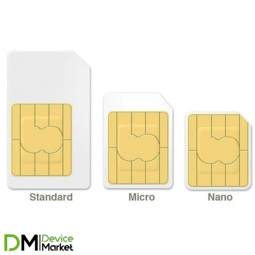Обрезка SIM карты