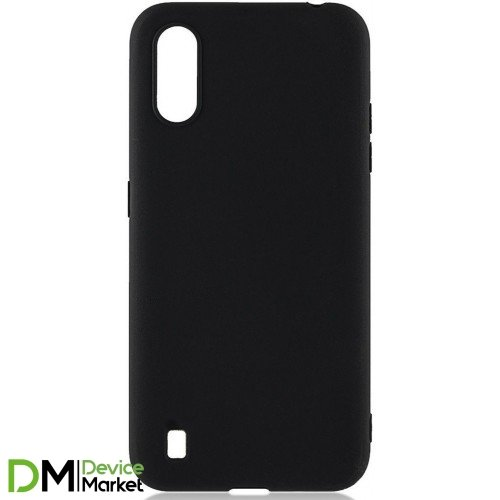 Чехол силиконовый Samsung A01 Core A013 / M01 Core Black