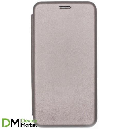 Чехол-книжка для Xiaomi Redmi Note 8 Grey