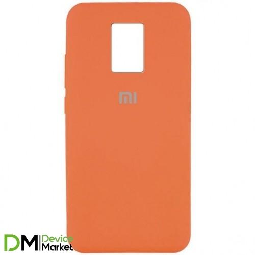 Silicone Case Xiaomi Redmi Note 9 Apricot