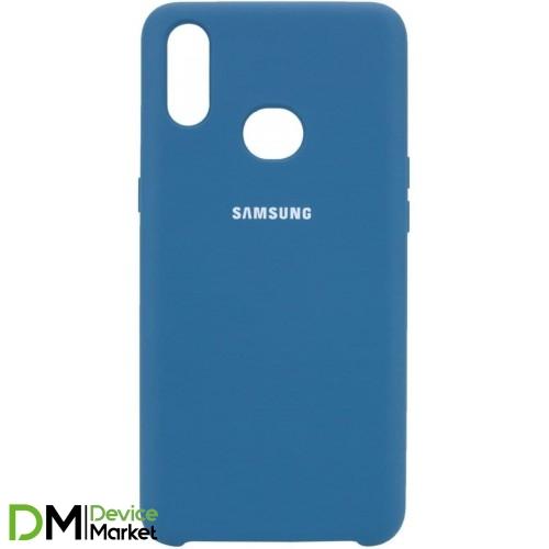 Silicone Case Samsung A10S Cosmos Blue