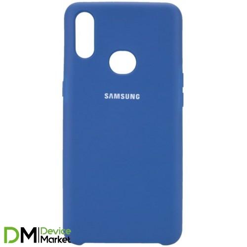 Silicone Case Samsung A10S Navy Blue