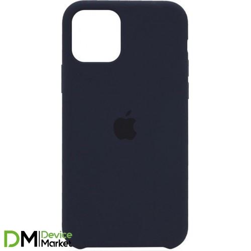 Silicone Case для iPhone 12 Pro Max Midnight Blue