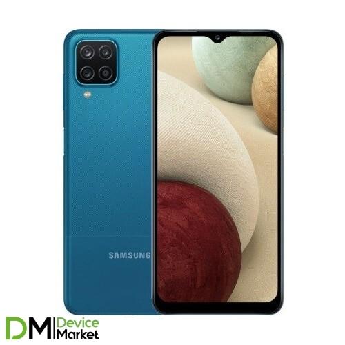 Смартфон Samsung Galaxy A12 4/64Gb Blue (SM-A125FZBVSEK) UA