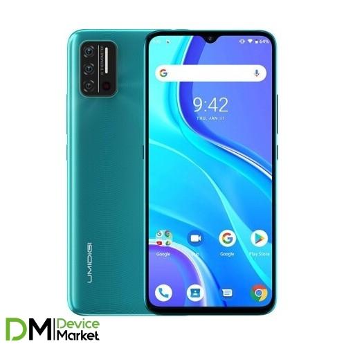 Смартфон Umidigi A7S 2/32 Peacock Green