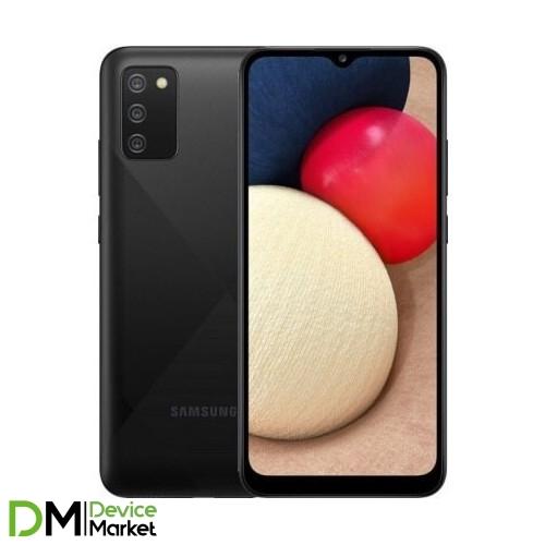 Смартфон Samsung Galaxy A02s 32Gb Black (SM-A025FZKESEK) UA