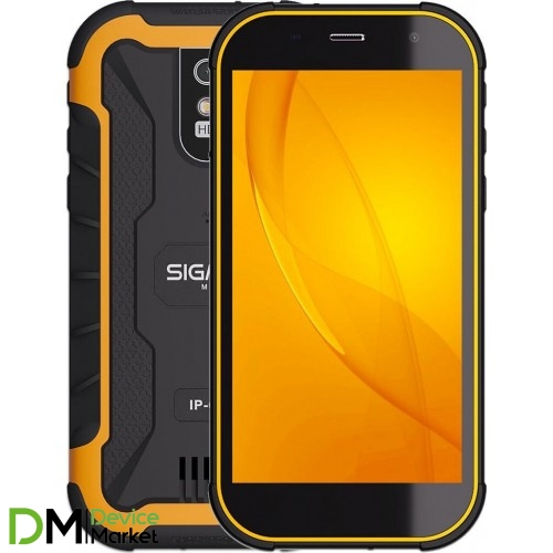 Sigma Х-treme PQ20 Black Orange