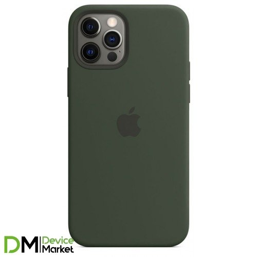 Silicone Case для iPhone 12 Pro Max Cyprus Green