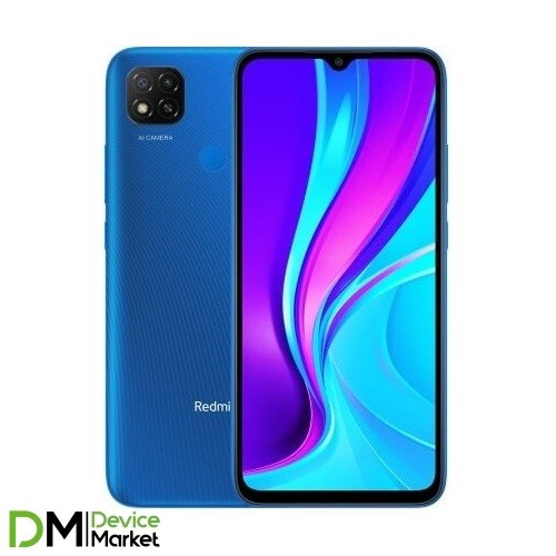 Смартфон Xiaomi Redmi 9C 2/32GB NFC Twilight Blue Global