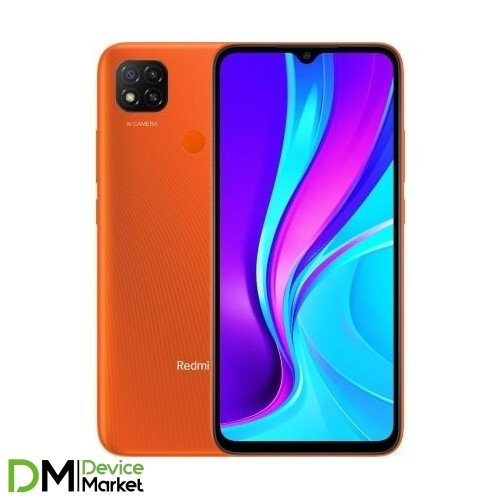 Смартфон Xiaomi Redmi 9C 2/32GB NFC Sunrise Orange Global UA