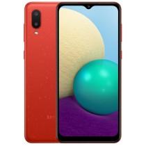 Смартфон Samsung Galaxy A02 32Gb Red (SM-A022GZRBSEK) UA