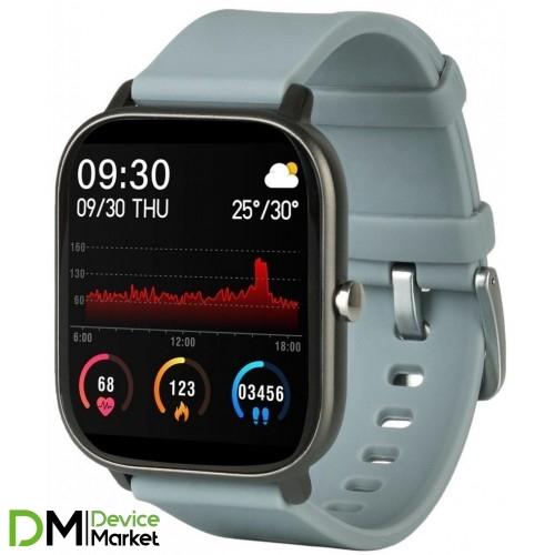 Умные часы Globex Smart Watch Me Gray