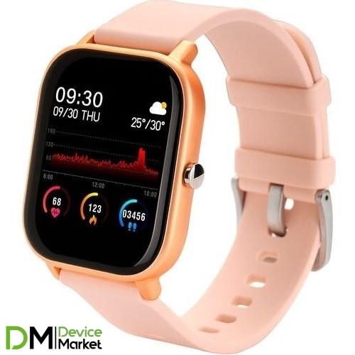 Умные часы Globex Smart Watch Me Gold