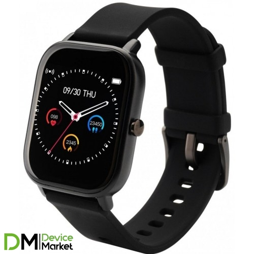 Розумний годиник Globex Smart Watch Me Black